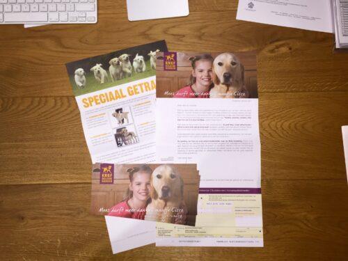 Image for Half miljoen combola's voor KNGF Geleidehonden