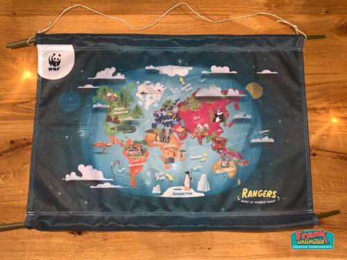 Image for Landkaart voor WNF op gerecyclede PET-flessen